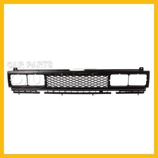 83 86 Nissan 720 Pickup Front Grille NI1200106 Mat Black Plastic Deluxe King Cab