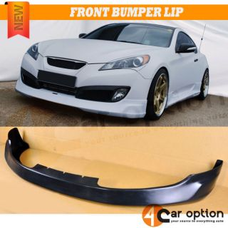Fit for 10 11 12 Hyundai Genesis 2dr Coupe MS Style Urethane Front Bumper Lip