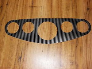 Vintage Hot Rod 5 Gauge Panel Instrument Cluster Fits Stewart Warner Ensign Scta