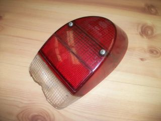 1971 1972 Volkswagen Beetle Super Beetle Left Tail Light Rear Lens 1 VW