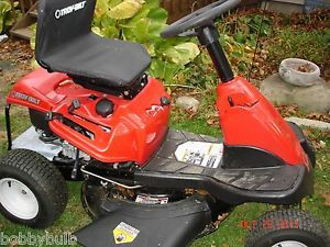 Troy Bilt 26J Mini Rider Lawn Tractor 344cc Rear Engine Riding Mower