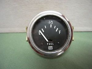 Vintage Stewart Warner Fuel Gas Gauge 1932 Ford Flathead Hot Rod Panel Scta