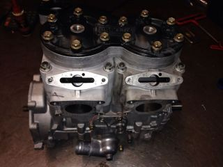 2007 2009 Polaris 700 CFI Engine Motor Crank Cases Dragon RMK Rebuilt