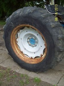Ford 4000 Tractor Rear Tires 16 9 x 30 Firestone 6 Ply Field Road Set of 2