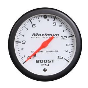 Stewart Warner Boost Gauge
