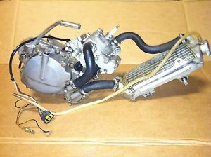 02 Kawasaki KX 85 KX 80 KX 100 Complete Engine Motor Runs Perfect Radiator
