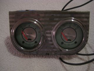 Vintage Stewart Warner 1960s Gauges