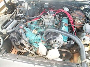 1970 Pontiac 455 Engine Motor Running Strong