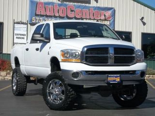 2006 Dodge RAM 2500 SLT Mega Cab 5 9 Cummins Diesel 4x4 4WD Lifted