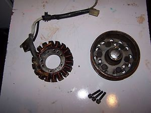 2003 Yamaha Viper SX ER 700 Triple Engine Ignition Stator and Flywheel