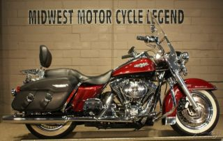 2000 Flhrci Road King Classic Luxury Rich Red Vivid Black Watch Our Video