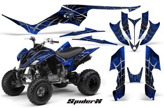 Yamaha Raptor 350 Graphics Kit Creatorx Decals Stickers SXBLB