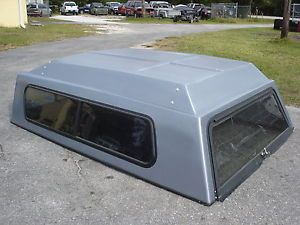 Fiberglass Topper camper Bed Cover Long Bed Full Size 99 Long 72 Wide Ford Chevy