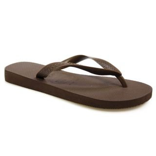 Havaianas Mens Womens Brown Rubber Flip Flops Sandals Shoes Size 2 10