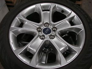 "Set of 4 2013 18"" Ford Escape Factory Wheels Continental Tires"
