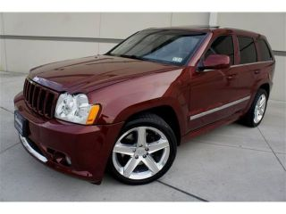 Jeep Grand Cherokee SRT 8 4WD 6 1L Hemi Heated One of A Kind Fasssssstttttttt