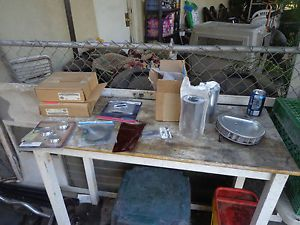 Harley Touring Softail Dyna Parts Lot Air Cleaner Decorative Covers Dust Covers