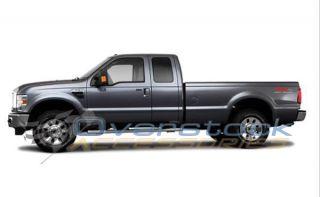 1999 2011 Ford Super Duty 8ft Long Bed Stainless Steel Raptor Truck Bed Rails