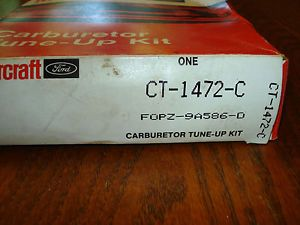 Ford Motorcraft Carburetor Tune Up Kit 1988 F700 370 Engine