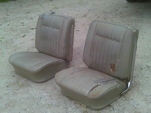 1964 1965 GM Convertible Bucket Seats SS GS Chevrolet Pontiac Buick Oldsmobile