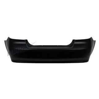 07 11 Chevrolet Aveo Sedan Primered Black Rear Bumper Cover Replacement New