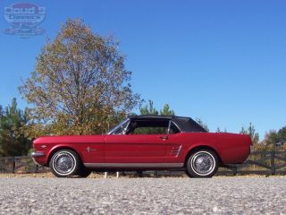 Beautiful 1966 Ford Mustang Convertible Nicely Restored 289 V8 4BBL Show and Go