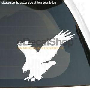 Eagle Hawk Falcon Bird Vinyl Sticker Car Truck Decal