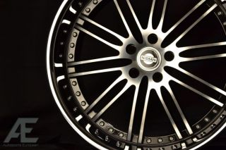 20 inch Nissan 350Z 370Z Altima Wheels Rims Hennessey Diamond Cut
