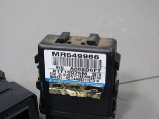 01 Mitsubishi Montero Sport ECU ECM Engine Control Unit Computer MR560347 Immob