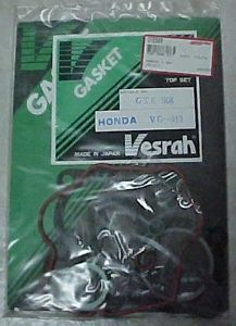 Honda Motorcycle Engine Top Gasket Set XR75 1973 1978