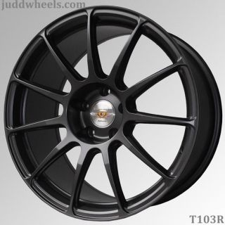 "18"" Nissan 350Z 03 09 Convertible Judd T103 L Weight Alloy Wheels 5x114"
