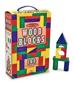 Vintage Wooden Building Blocks