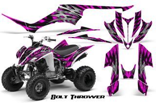 Yamaha Raptor 350 Graphics Kit Creatorx Decals Stickers BTP