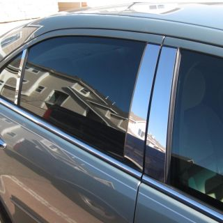 Dodge Journey 09 12 Chrome Style Door Pillar Post Polished Stainless 6 Piece Set
