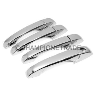 Triple Chrome Door Handle Cover Trim for Chrysler 300 05 10 Dodge Journey 07 10