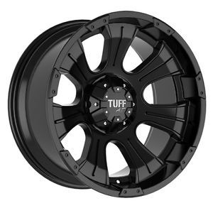 "16"" inch 5x135 5x5 5 Black Wheels Rims 5 Lug Ford F150 Dodge RAM 1500 Dakota"