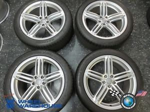 Four 11 12 Audi A8 Factory 20 Wheels Tires Rims 275 40 20 Continental