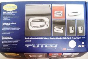 Putco Chrome Trim Accessories Door Handle Covers Dodge RAM 1500 2500 3500