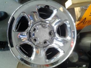 "2003 Dodge RAM 1500 17"" 5 Lug Stock Chrome Rims Wheels"