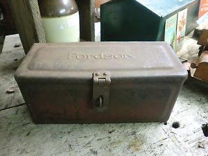 Early Fordson Ford Tractor Tool Box Vintage Mailbox Farm Primitive Antique