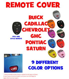 Buick Cadillac Chevrolet GMC Pontiac Saturn and More Keyless Remote Cover