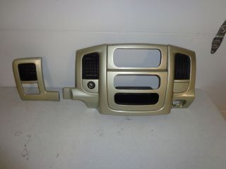 02 05 03 04 Dodge RAM 1500 2500 Center Dash Radio Bezel Harley Davidson Edition