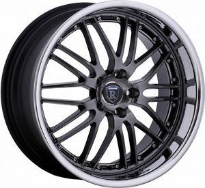"19"" Rohana RL06 Staggered Wheels 5x114 Rim Fits Nissan 350Z 2003 2004 2005 2006"