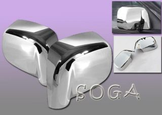 02 08 Dodge RAM 1500 2500 3500 Chrome Side Mirror Cover Covers 2002 2003 2004