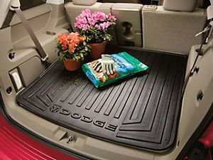 82211404AC New Molded Cargo Tray Black for Dodge Journey