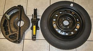 Ford Fiesta Factory Spare Tire Jack and Tools 2011