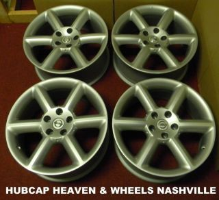 2003 2004 2005 Nissan 350Z Wheel Set of 4 18 inch Staggered Wheels 62417 62416