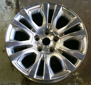 "Used 20"" Dodge RAM 1500 2013 Factory OEM Wheel 2455"