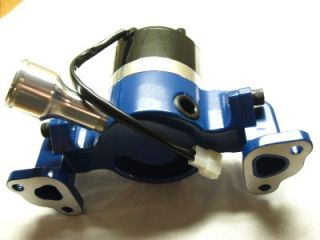 Small Block Ford Blue Electric Water Pump 260 289 302 351W SBF V8 Street Rod