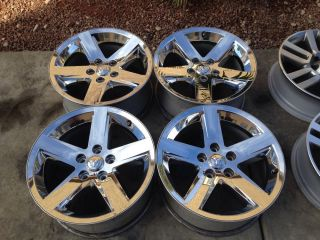 20 inch Dodge RAM 1500 Chrome Clad Wheels Rims